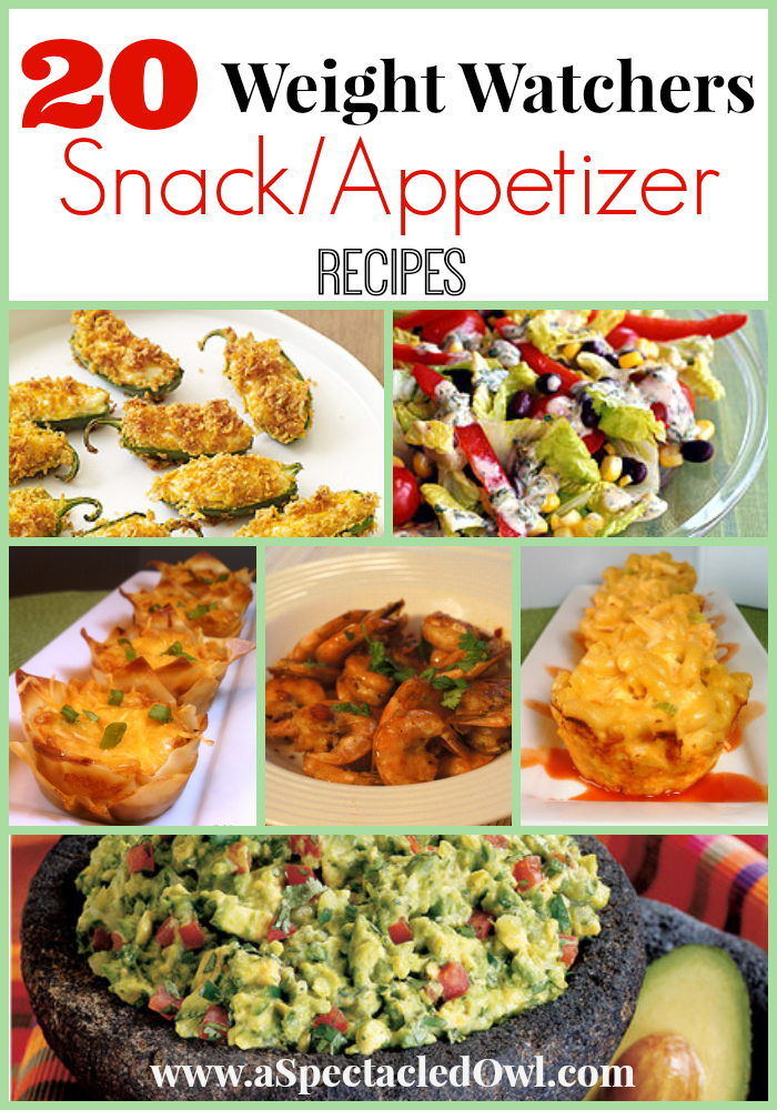 20 Weight Watchers Snacks And Appetizers Recipes A Spectacled Owl