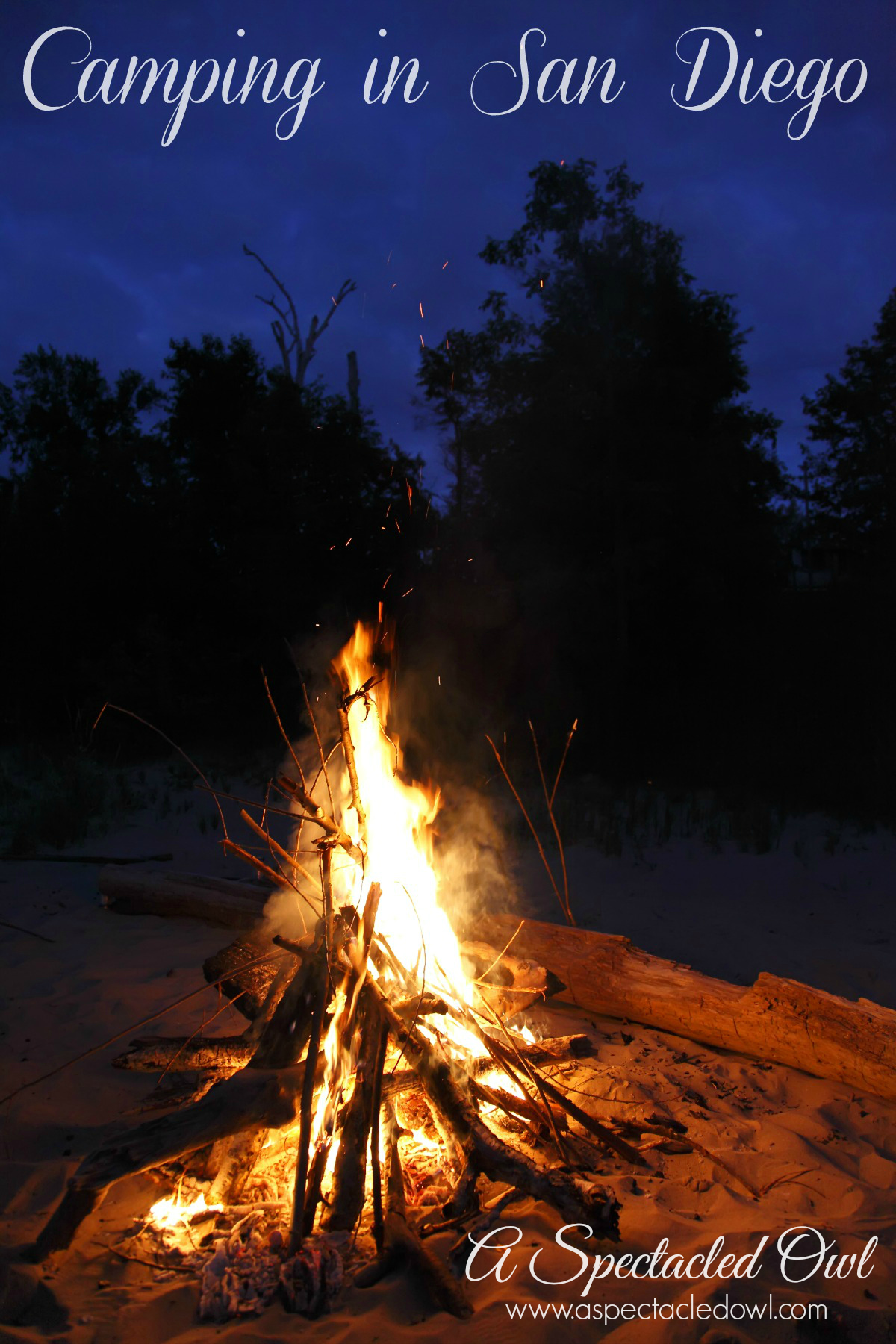Camping in San Diego is not like camping in the Midwest. You won't be getting away with $7 a night camping spots near the beach. It's more like $40, on the cheaper end. If you're going for a budget vacation, though, camping in San Diego is a much cheaper alternative to staying in a hotel!