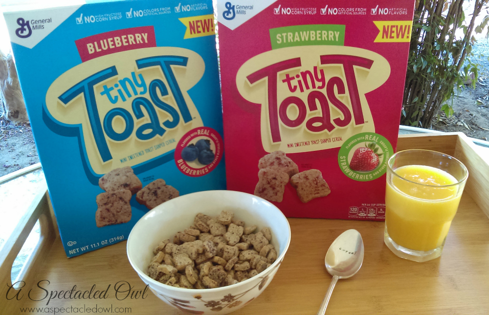 New Tiny Toast Cereal from General Mills is a Hit with Teens & Tweens #TinyToastCereal #Kroger