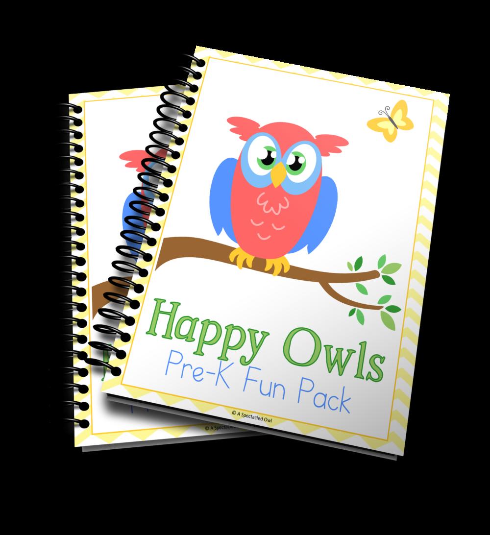 Happy Owls PreK Fun Pack