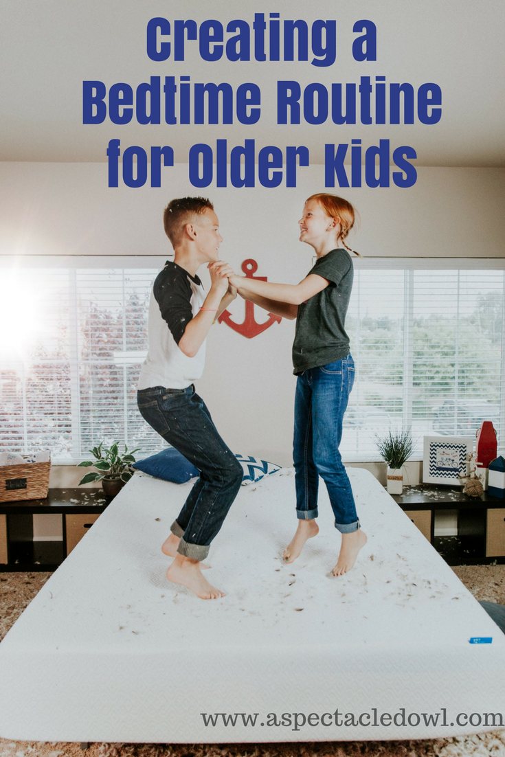 Creating a Bedtime Routine for Older Kids